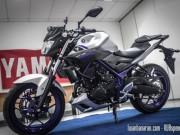 Xe xịn - Cận cảnh xe côn tay Yamaha MT-25 hầm hố