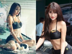 8X + 9X - Hot girl Nga Tây mặc bikini rửa xe ô tô