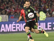 Bóng đá - Chile - Mexico: Rượt đuổi ngoạn mục