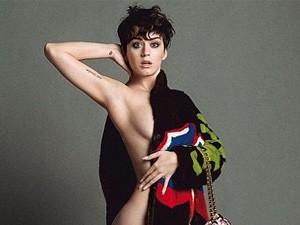 Katy Perry hở nửa người làm nàng thơ của Moschino