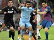 Bóng đá Ngoại hạng Anh - Aguero muốn hạ Messi, Ronaldo giành QBV