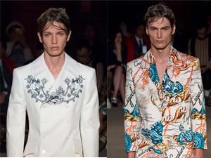 Thời trang nam - Cảm hứng biển cả mênh mang trong thiết kế của McQueen