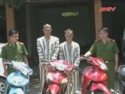Video An ninh - Ba thanh niên lẻn vào KCN trộm xe máy trong chớp mắt