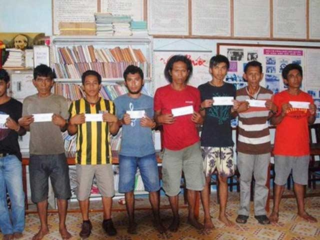 Hải tặc cướp tàu Malaysia bị bắt tại Việt Nam
