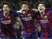 """Bóng đá - MSN """"càn quét"""" top bàn thắng đẹp Barca mùa 2014/15"""