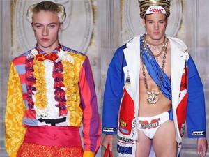"""Thời trang nam - """"Hoàng tử 16 tuổi"""" mặc màu mè diễn thời trang"""