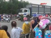 Tai nạn giao thông - Xe chở gỗ tông xe máy, 4 người trong gia đình tử vong