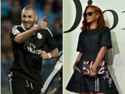"""Ngôi sao bóng đá - Benzema bất ngờ """"đá cặp"""" với nữ hoàng nhạc Pop"""