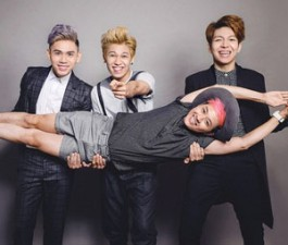 Mỹ Linh thích thú màn hóa thân thành EXO của Thanh Duy