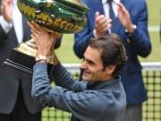 Tennis - Lập siêu kỷ lục ở Đức, Federer mơ về Wimbledon