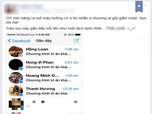 """Tin học văn phòng - Cách chặn tin nhắn rác như """"dịch bệnh"""" trên Facebook"""