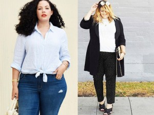 Thời trang - 14 cách mặc giúp nàng mập bớt béo