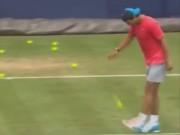 Thể thao - Tennis 24/7: Nadal tâng bóng tennis bằng chân điêu luyện
