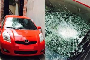 """Tin tức trong ngày - Hàng loạt lái xe """"tố"""" bị ném đá trên cao tốc HN-Lào Cai"""
