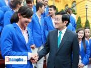 SEA Games 28 - Chủ tịch nước giao nhiệm vụ cho thể thao Việt Nam