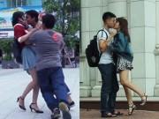 """Bạn trẻ - Cuộc sống - Kiss Cam: Ảnh hưởng xấu đến người hôn và người """"bị"""" hôn"""