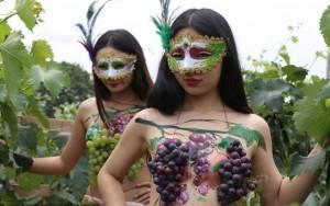 Bạn trẻ - Cuộc sống - Gái trẻ khỏa thân ở vườn nho khiến nông dân phát hoảng