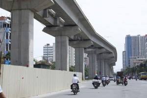 Tin tức Việt Nam - Vì sao đường sắt trên cao uốn lượn, cong phình?