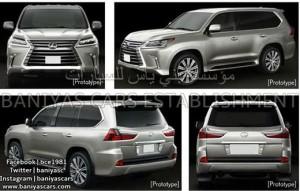 Xe xịn - Mẫu Lexus LX mới sẽ được phát hành vào tháng 8 tới