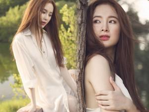 Thời trang - Angela Phương Trinh trễ nải với sơ mi trắng buông cúc
