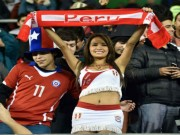 """Tin bên lề bóng đá - Những bóng hồng """"thổi lửa"""" giúp Peru hạ Bolivia"""