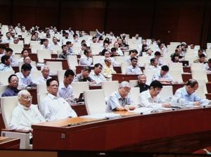 Phu nhân cố Tổng Bí thư Nguyễn Văn Linh bất ngờ thăm Quốc hội