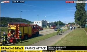 Thế giới - Pháp: IS khủng bố nhà máy khí gas, 1 người bị chặt đầu
