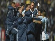 Bóng đá - Argentina - Colombia: Căng thẳng đến phút chót