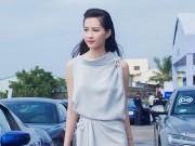 Thời trang - Hoa hậu Thu Thảo kín đáo vẫn gợi cảm hút hồn