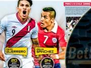Các giải bóng đá khác - Chile - Peru: Cẩn tắc vô áy náy