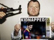 """Tin bên lề bóng đá - Độc: Thoát khỏi tay khủng bố nhờ kêu tên """"Messi"""""""