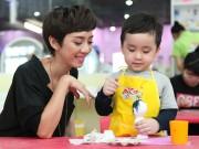 Thế giới giải trí - DV hài Thu Trang 'đóng vai ác' để dạy con