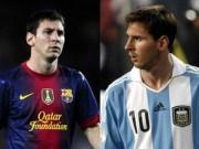 Bóng đá - Messi lên tuyển chỉ bằng nửa ở Barca: Bao giờ có cúp