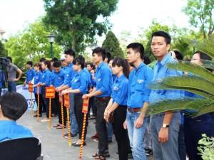 Giáo dục - du học - 5.000 thanh niên tình nguyện tiếp sức mùa thi 2015 tại Thanh Hóa
