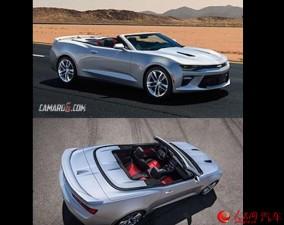 Chevrolet Camaro phiên bản mui trần mới lộ diện