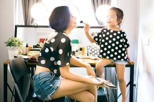 Bạn trẻ - Cuộc sống - Bộ ảnh dễ thương của mẹ và con gái