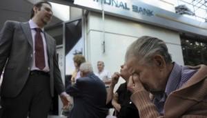 Ngân hàng - Hy Lạp đóng cửa ngân hàng, chứng khoán toàn cầu lao dốc