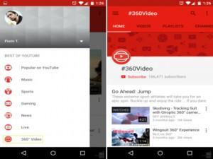 Công nghệ thông tin - Xem video 360 độ độc đáo trên YouTube