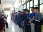 """Video An ninh - Hơn 100 cảnh sát đột kích sới bạc """"khủng"""" ở Nam Định"""