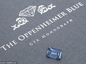 Thế giới - Kim cương xanh lớn nhất thế giới giá 990 tỉ