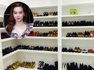 """Thời trang - Sao Việt """"vung"""" tiền cho giày hiệu chẳng kém sao ngoại"""