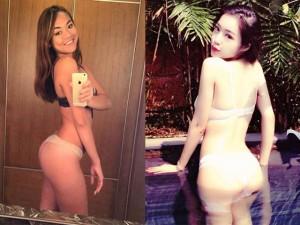 """Phim - Mỹ nhân """"siêu vòng ba"""" không đối thủ của showbiz Việt"""