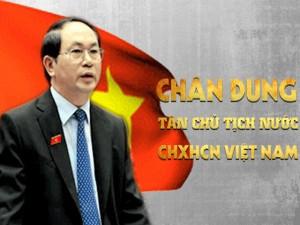 Tin tức trong ngày - [Infographic] Chân dung tân Chủ tịch nước Trần Đại Quang