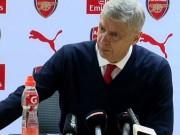 """Bóng đá - HLV Wenger: """"Niềm tin giờ rất quan trọng với Arsenal"""""""