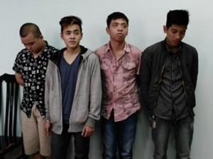 """An ninh Xã hội - Nhóm cướp tuổi teen chuyên """"săn đêm"""" tại HN sa lưới"""