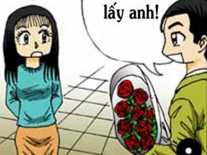 Cười 24H - Truyện tranh: Chết cười chuyện thử người yêu