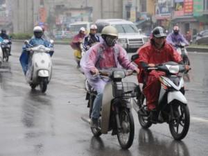 Tin tức trong ngày - Miền Bắc có mưa, trời giảm nồm