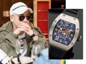 Seung Ri đeo đồng hồ 1,5 tỷ đồng tới Việt Nam