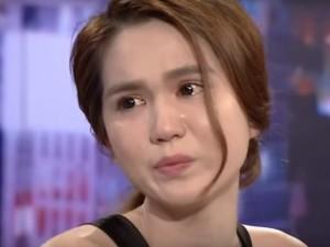 MC Lại Văn Sâm khiến Ngọc Trinh khóc nức nở