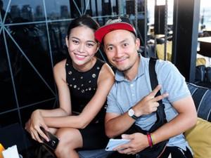 Ca nhạc - MTV - Loạt ảnh khiến Tiến Đạt và Mâu Thủy bị nghi hẹn hò